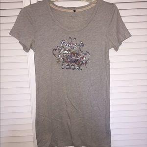Victoria Secret VS Sequined Elephant T-shirt (med)